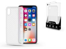 Apple iPhone X/XS szilikon hátlap - Roar Carbon Armor Ultra-Light Soft Case - clear