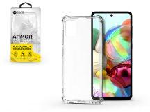 Samsung A715F Galaxy A71 szilikon hátlap - Roar Armor Gel - transparent