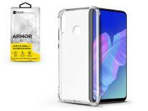 Huawei P40 Lite E szilikon hátlap - Roar Armor Gel - transparent