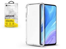 Huawei P Smart Pro (2019) szilikon hátlap - Roar Armor Gel - transparent