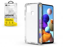 Samsung A217F Galaxy A21s szilikon hátlap - Roar Armor Gel - transparent
