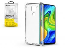 Xiaomi Redmi Note 9 szilikon hátlap - Roar Armor Gel - transparent