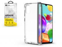 Samsung A415F Galaxy A41 szilikon hátlap - Roar Armor Gel - transparent