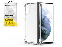 Samsung G990F Galaxy S21 szilikon hátlap - Roar Armor Gel - transparent