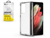 Samsung G998F Galaxy S21 Ultra szilikon hátlap - Roar Armor Gel - transparent