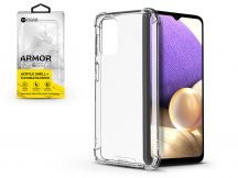 Samsung A326B Galaxy A32 5G szilikon hátlap - Roar Armor Gel - transparent