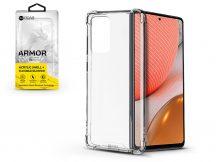 Samsung A725F Galaxy A72/A726B Galaxy A72 5G szilikon hátlap - Roar Armor Gel - transparent