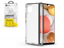 Samsung A426B Galaxy A42 5G szilikon hátlap - Roar Armor Gel - transparent