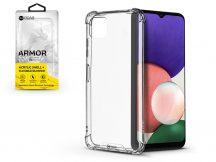 Samsung A226B Galaxy A22 5G szilikon hátlap - Roar Armor Gel - transparent