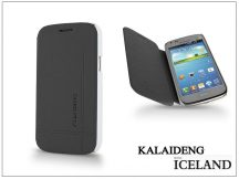 Samsung i8260 Galaxy Core flipes tok - Kalaideng Iceland Series - black