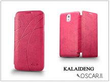 Samsung SM-G900 Galaxy S5 flipes tok - Kalaideng Oscar 2 Series - pink