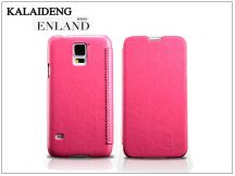 Samsung SM-G900 Galaxy S5 flipes tok - Kalaideng Enland Series - dark pink