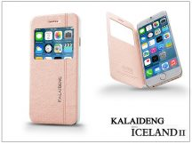Apple iPhone 6 flipes tok - Kalaideng Iceland 2 Series View Cover - golden