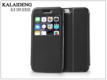 Apple iPhone 6 flipes tok - Kalaideng Sun Series View Cover - black