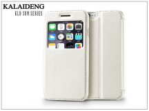 Apple iPhone 6 flipes tok - Kalaideng Sun Series View Cover - white