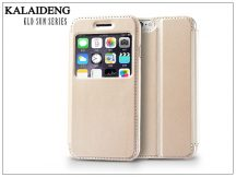 Apple iPhone 6 flipes tok - Kalaideng Sun Series View Cover - golden
