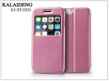 Apple iPhone 6 flipes tok - Kalaideng Sun Series View Cover - pink