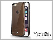 Apple iPhone 6 szilikon hátlap üveg képernyővédó fóliával - Kalaideng Air Series - black