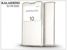 Sony Xperia Z5 (E6653) flipes tok - Kalaideng Sun Series View Cover - white
