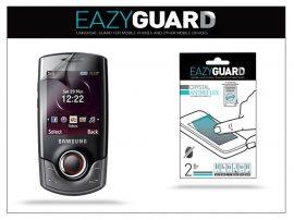 Samsung S3100 képernyővédő fólia - 2 db/csomag (Crystal/Antireflex)