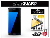 Samsung G935F Galaxy S7 Edge gyémántüveg képernyővédő fólia - Diamond Glass 3D Fullcover - fekete