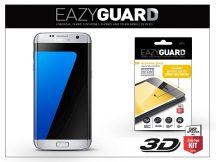 Samsung G935F Galaxy S7 Edge gyémántüveg képernyővédő fólia - Diamond Glass 3D Fullcover - ezüst