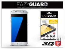 Samsung G930F Galaxy S7 gyémántüveg képernyővédő fólia - Diamond Glass 3D Fullcover - ezüst