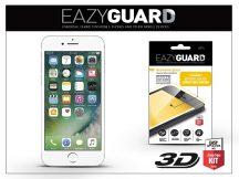 Apple iPhone 7 gyémántüveg képernyővédő fólia - Diamond Glass 3D Fullcover - fehér