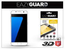 Samsung G930F Galaxy S7 gyémántüveg képernyővédő fólia - Diamond Glass 3D Fullcover - fehér