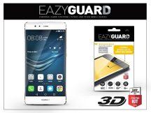 Huawei P9 gyémántüveg képernyővédő fólia - Diamond Glass 3D Fullcover - fehér