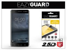 Nokia 6 gyémántüveg képernyővédő fólia - Diamond Glass 2.5D Fullcover - fekete