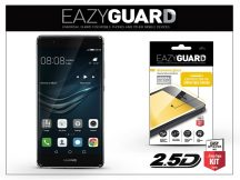Huawei P9 gyémántüveg képernyővédő fólia - Diamond Glass 2.5D Fullcover - fekete