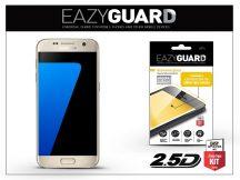 Samsung G930F Galaxy S7 gyémántüveg képernyővédő fólia - Diamond Glass 2.5D Fullcover - gold
