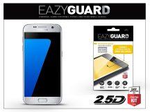 Samsung G930F Galaxy S7 gyémántüveg képernyővédő fólia - Diamond Glass 2.5D Fullcover - ezüst