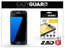 Samsung G930F Galaxy S7 gyémántüveg képernyővédő fólia - Diamond Glass 2.5D Fullcover - fekete