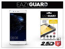 Huawei P10 Lite gyémántüveg képernyővédő fólia - Diamond Glass 2.5D Fullcover - fehér