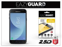 Samsung J330F Galaxy J3 (2017) gyémántüveg képernyővédő fólia - Diamond Glass 2.5D Fullcover - fekete