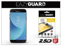 Samsung J730F Galaxy J7 (2017) gyémántüveg képernyővédő fólia - Diamond Glass 2.5D Fullcover - fekete