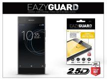 Sony Xperia XA1 (G3121/G3123/G3125) gyémántüveg képernyővédő fólia - Diamond Glass 2.5D Fullcover - fekete
