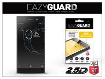 Sony Xperia XA1 Ultra (G3221/G3223) gyémántüveg képernyővédő fólia - Diamond Glass 2.5D Fullcover - fekete
