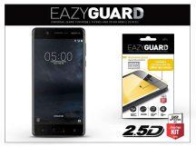 Nokia 5 gyémántüveg képernyővédő fólia - Diamond Glass 2.5D Fullcover - fekete