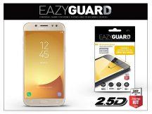 Samsung J530F Galaxy J5 (2017) gyémántüveg képernyővédő fólia - Diamond Glass 2.5D Fullcover - gold