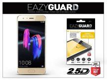 Huawei/Honor 9 gyémántüveg képernyővédő fólia - Diamond Glass 2.5D Fullcover - gold