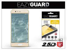 Huawei P10 gyémántüveg képernyővédő fólia - Diamond Glass 2.5D Fullcover - gold