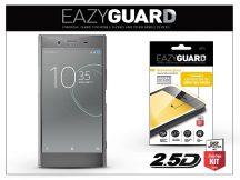 Sony Xperia XZ Premium (G8141) gyémántüveg képernyővédő fólia - Diamond Glass 2.5D Fullcover - szürke