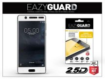 Nokia 5 gyémántüveg képernyővédő fólia - Diamond Glass 2.5D Fullcover - fehér