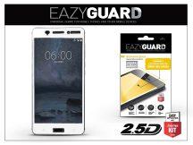 Nokia 6 gyémántüveg képernyővédő fólia - Diamond Glass 2.5D Fullcover - fehér