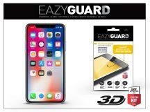 Apple iPhone X gyémántüveg képernyővédő fólia - Diamond Glass 3D Fullcover - fekete