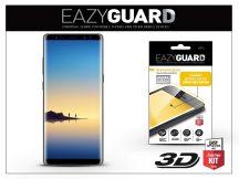 Samsung N950F Galaxy Note 8 gyémántüveg képernyővédő fólia - Diamond Glass 3D Fullcover - fekete