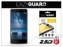 Nokia 8 gyémántüveg képernyővédő fólia - Diamond Glass 2.5D Fullcover - fekete